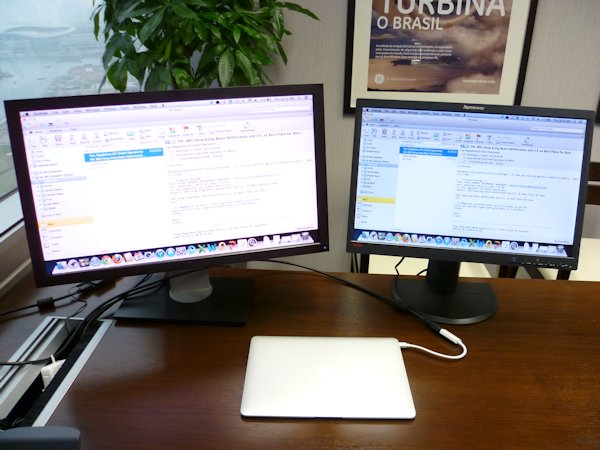 How To Setup Dual Display On Your Macbook Air Via Hdmi