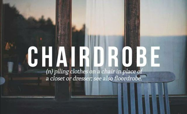 9 chairdrobe