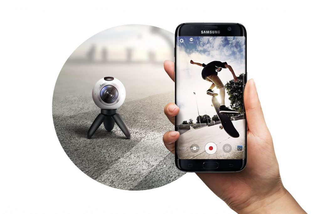samsung gear 360 camera arrives 29 april   funkykit