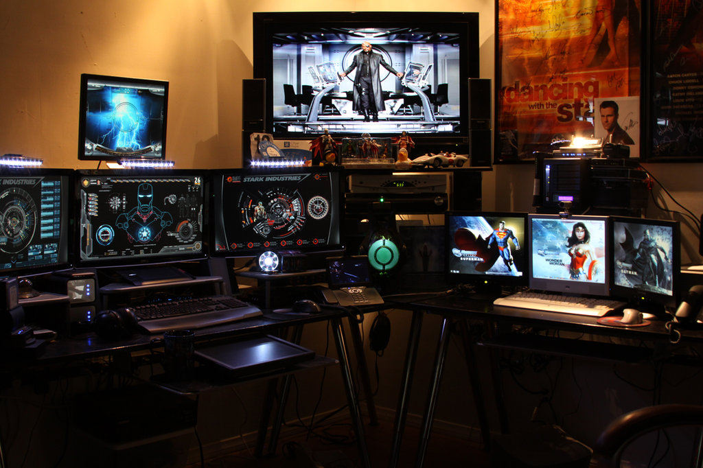Man Cave For Gamers : Man cave tech must haves funkykit