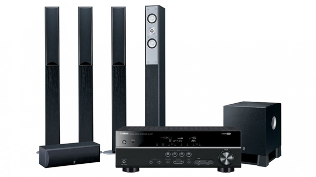 Dvd Home Theatre System With Wireless Rear Speakers