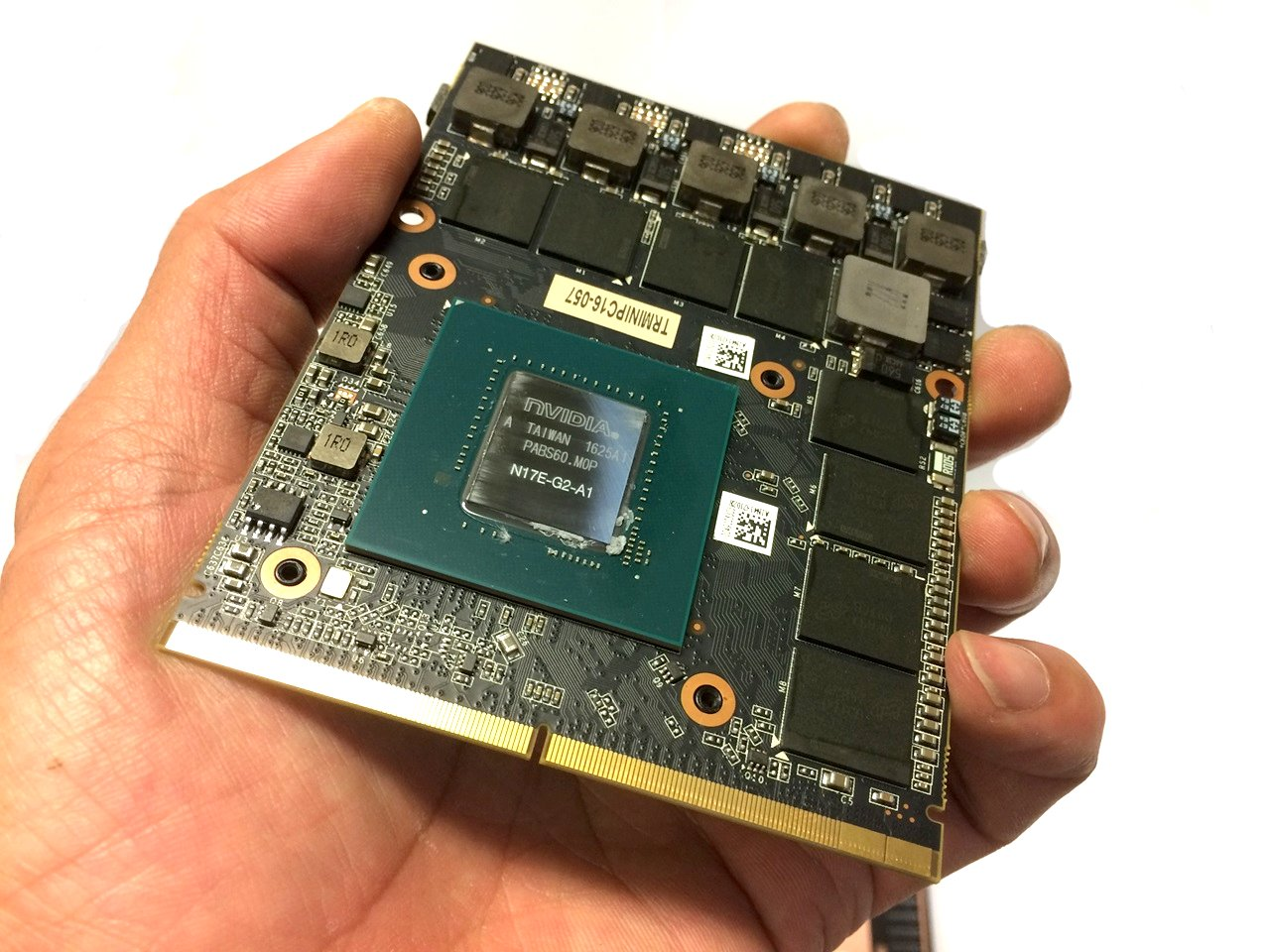 List of MXM GPUs and Resellers | Tom's Guide Forum