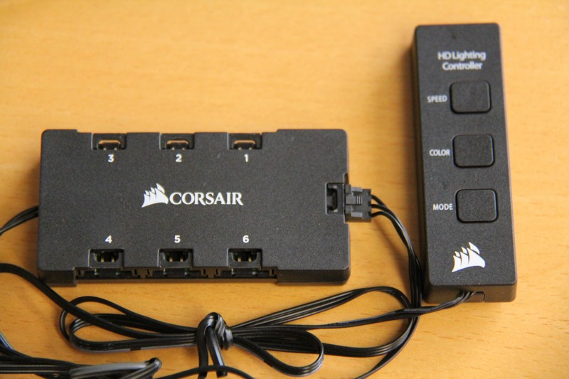 corsair hd120 rgb led