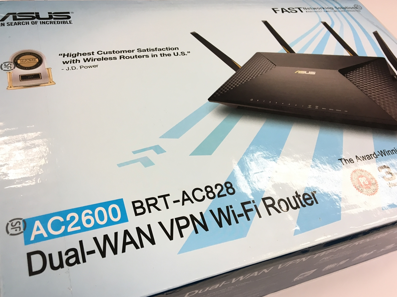 Asus BRT-828 AC2600 Dual-WAN VPN WiFi Router Review - Page 5 of 5 ...