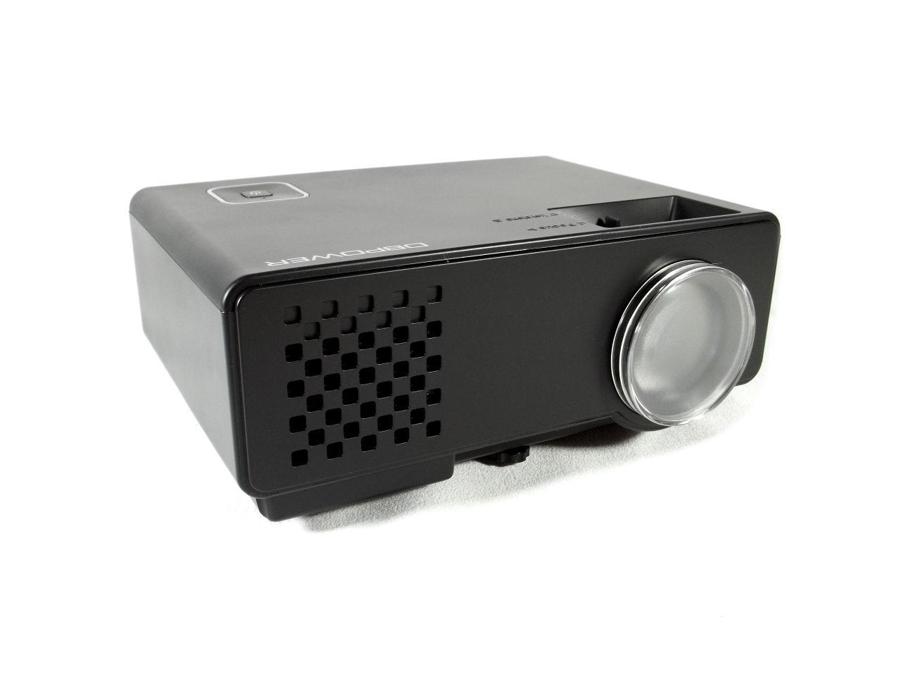 Dbpower rd 810 1200 lumens led portable projector review for Highest lumen pocket projector