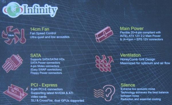infinity-box-specs