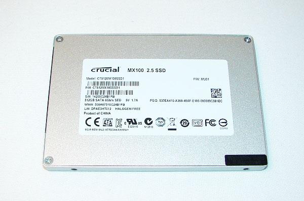 Crucial MX100 512GB pht4ed