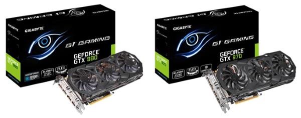 gigabyte g1 gaming GTX 970 980