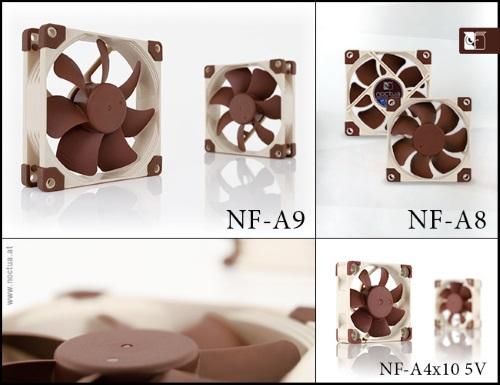 noctua nf a9 a8 a4x10 5v