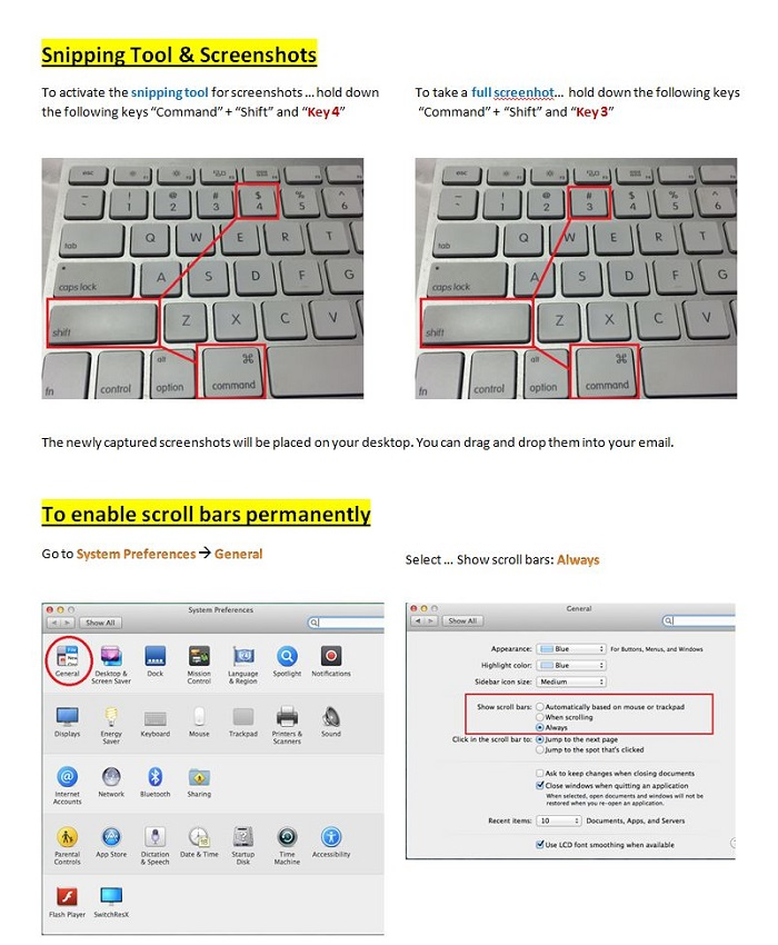 how to use snipping tool on macbook