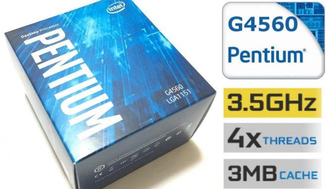 Intel Pentium G4560 Best Budget Processor