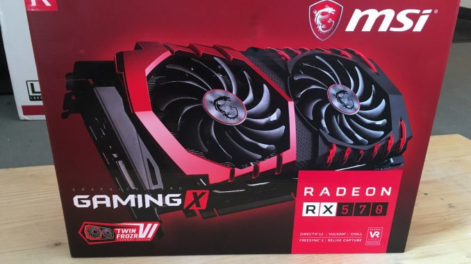 RX 570 Gaming X