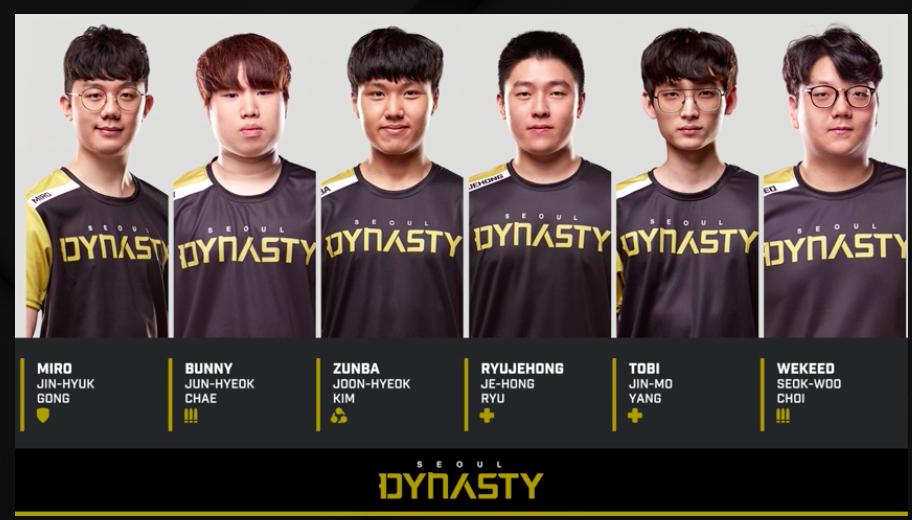 Overwatch League Favourites SEOUL DYNASTY Join Team RAZER ...