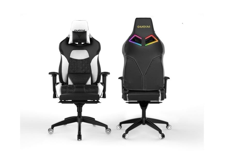 gamdias achilles p  rgb gaming chair build funkykit